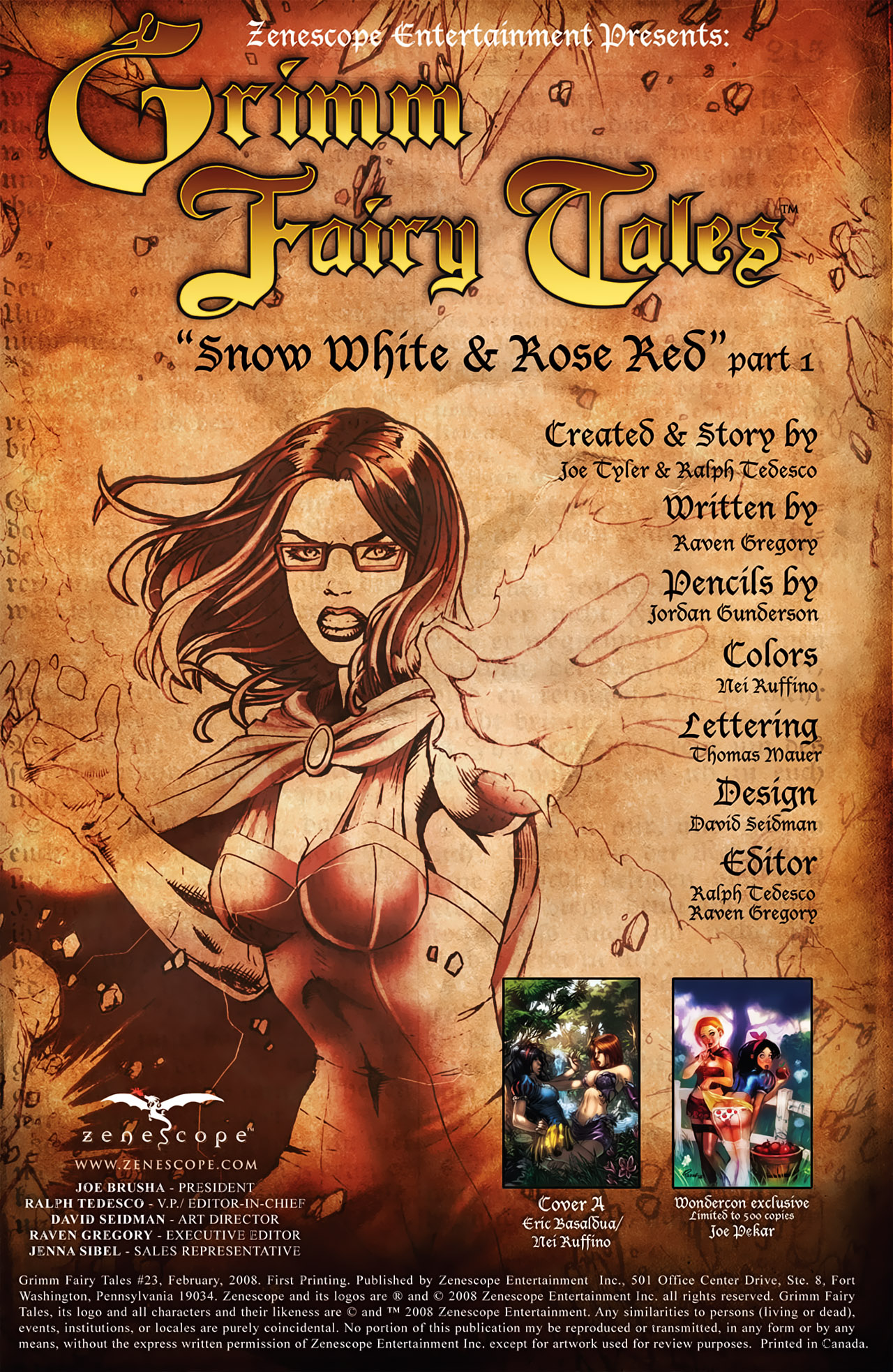 Grimm Fairy Tales (2005) Issue #23 #26 - English 2