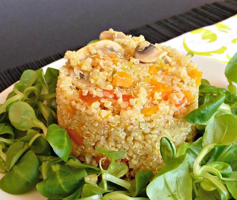 una fiera en mi cocina quinoa con verdura salteadas tmx