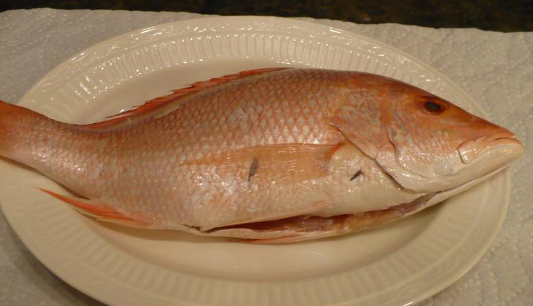 how to cook whole red snapper fish