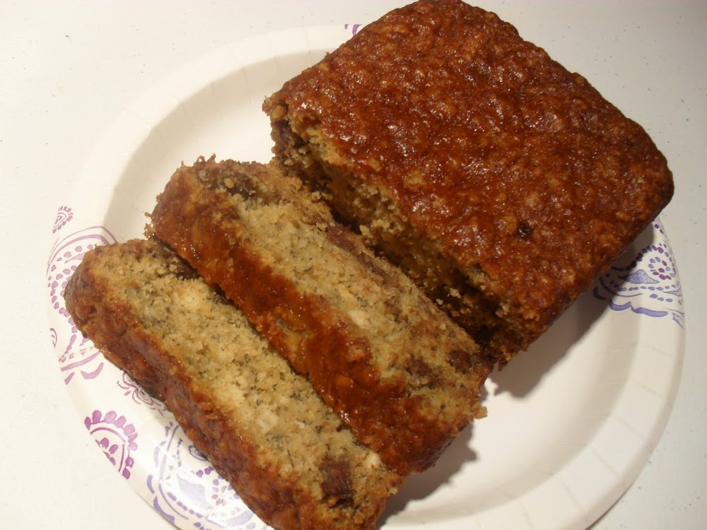 Making the Gluten-Free Diet Journey: Gluten-Free Banana Nut Bread ...