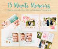 April's Promotion - 15 Minute Memories Sale!