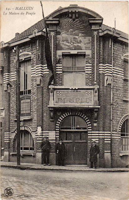 eug 232 ne gabriel pagnerre architecte 4 octobre 1874 2 juin 1939 la maison du peuple