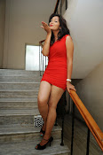 Aswini photo shoot in Red-thumbnail-4