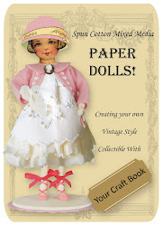 HOW TO CREATE YOUR OWN SPUN COTTON PAPER DOLL TUTORIAL