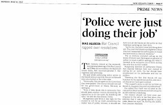 Keratan Akhbar New Straits Times 14 Mei 2012