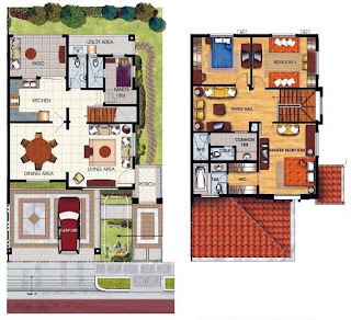 Duplex Plan 5 Townhomes Floor Plan at Prominence II at Brentville International Community