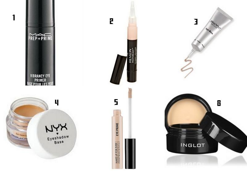 Primer for eye makeup