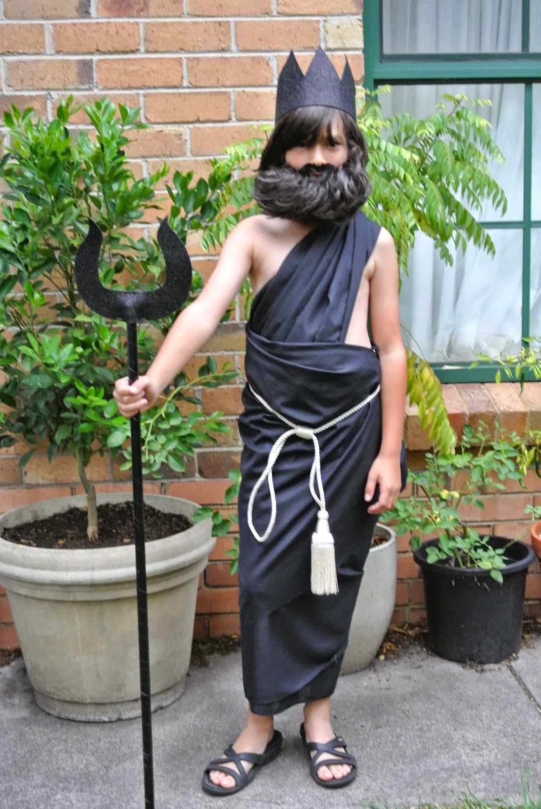 Toga Party. It Might Seem Like I Only Ever Make Clothes For My Daughter,  But Look! Hereu0027s A Lovely Garment I Whipped Up For My Son   Just Perfect  For School ...
