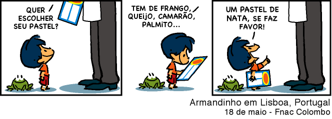 Leituras de bd reading comics alexandre beck e armandinho em portugal boas leituras fandeluxe Image collections