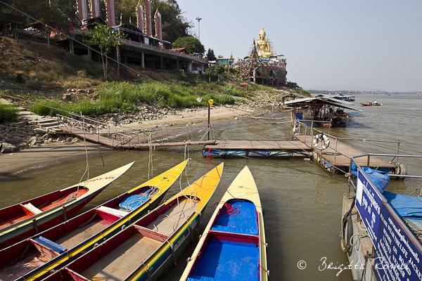 La Thailande et l'eau, le Mekong