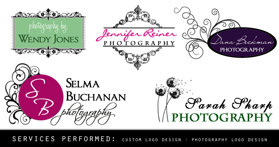All Graphic Designs Photography Logo Design