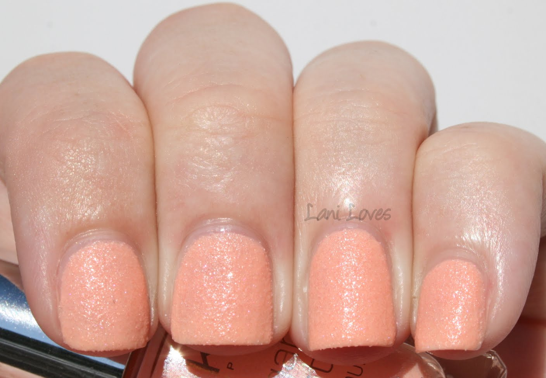Kiko Sugar Mat Apricot Nail Polish Swatches & Review
