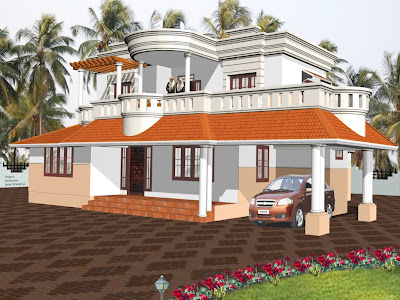 Home Design Photos on Beautiful Home Elevation Designs From Muhammed Shamim   Home Design