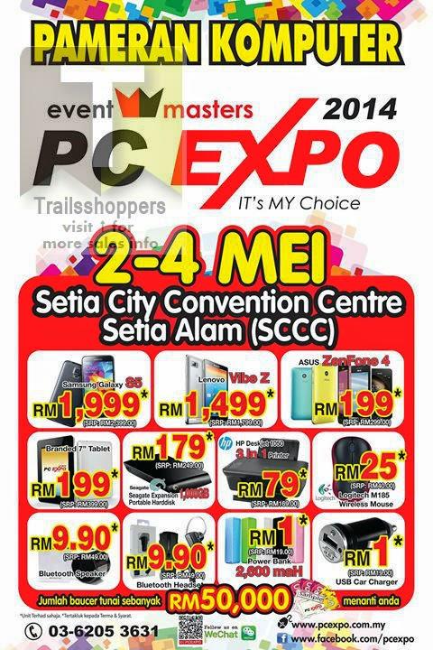 Pameran Komputer PC Expo Shah Alam Malaysia Selangor
