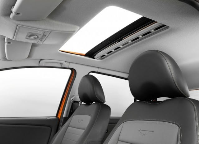 VW CrossFox 2013 - teto-solar