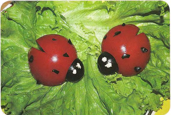 Поделки из помидоров фото