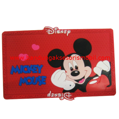 Dash Mat Mickey Mouse Red