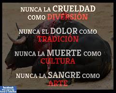 ¡NO A LA CRUELDAD!!