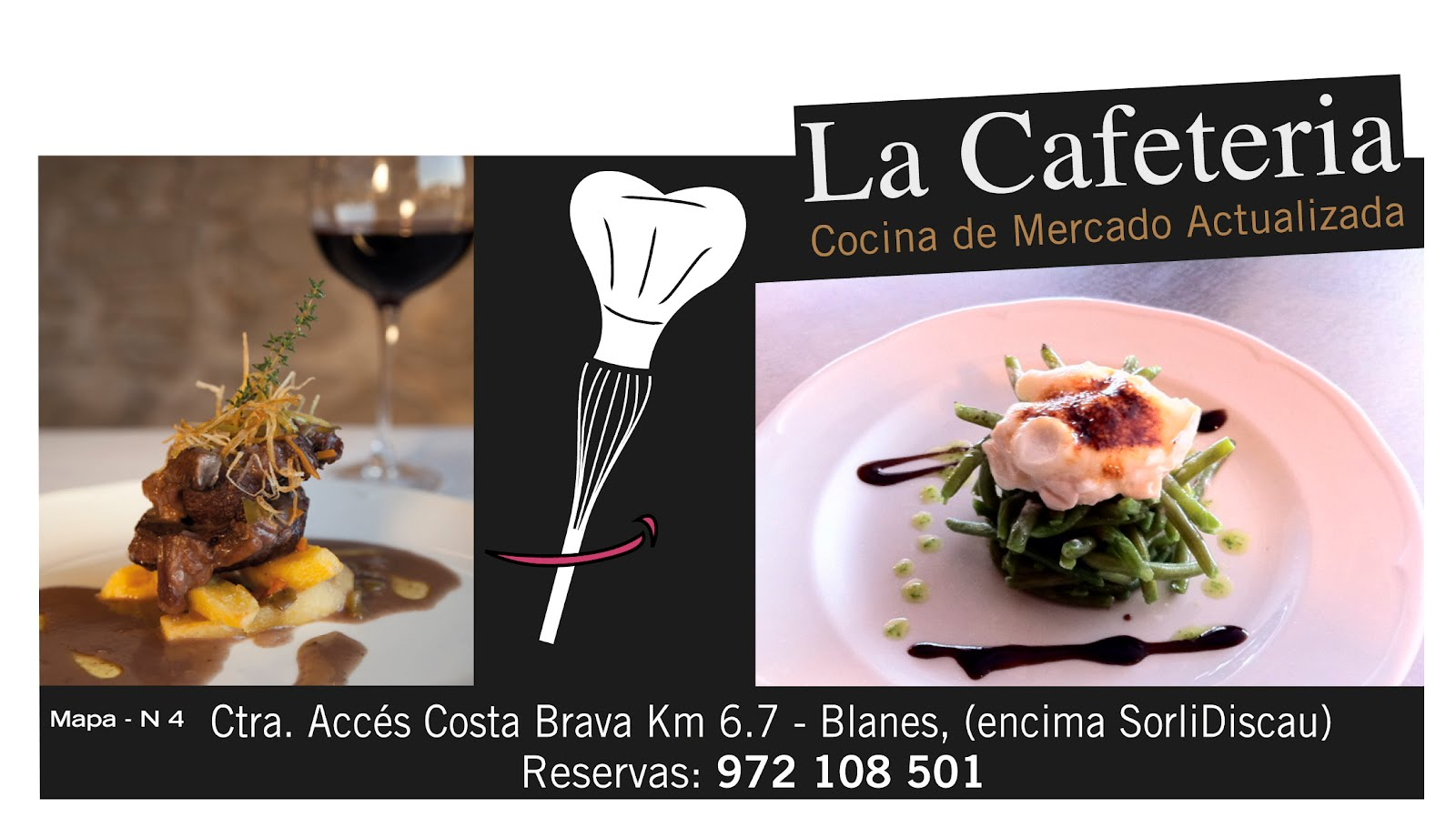 ''LA CAFETERIA'' Bar Restaurante BLANES