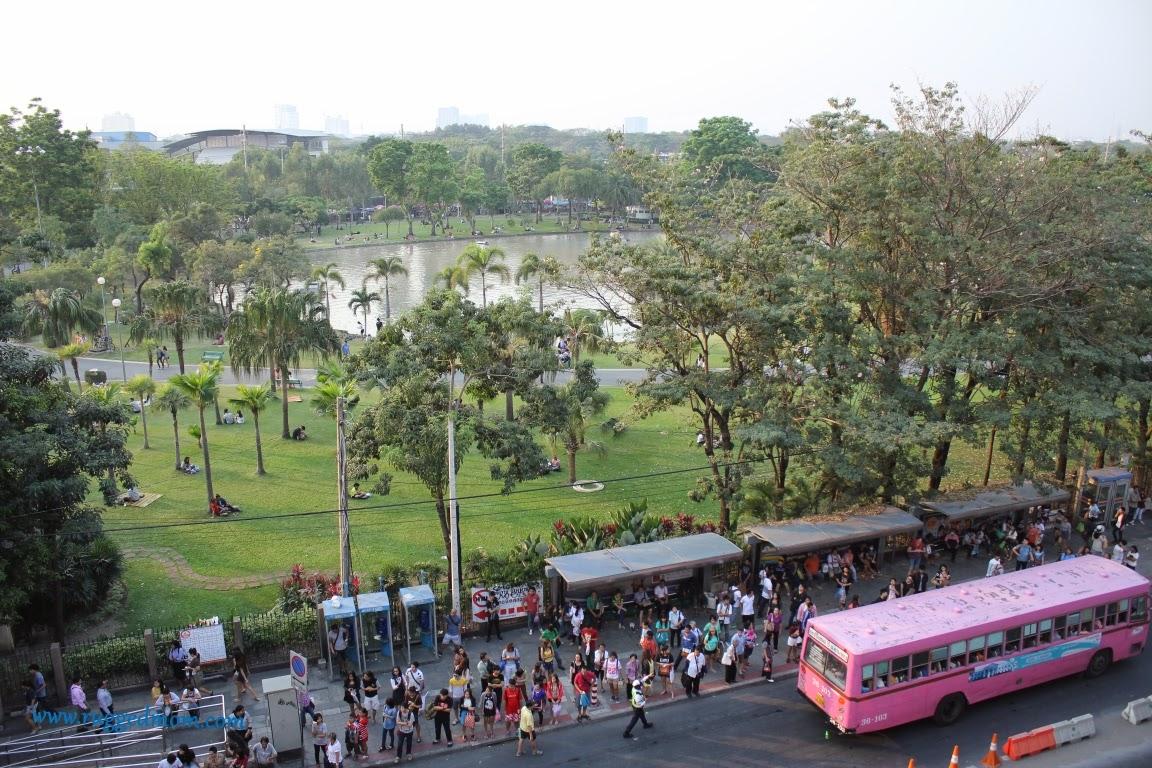 Thailand Bersantai di Chatuchak Park Bangkok