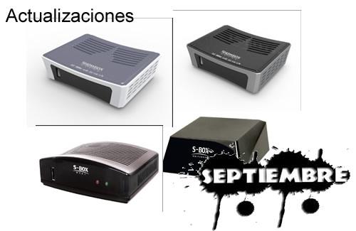 Actualizaciones ShowBox  Septiembre 2013