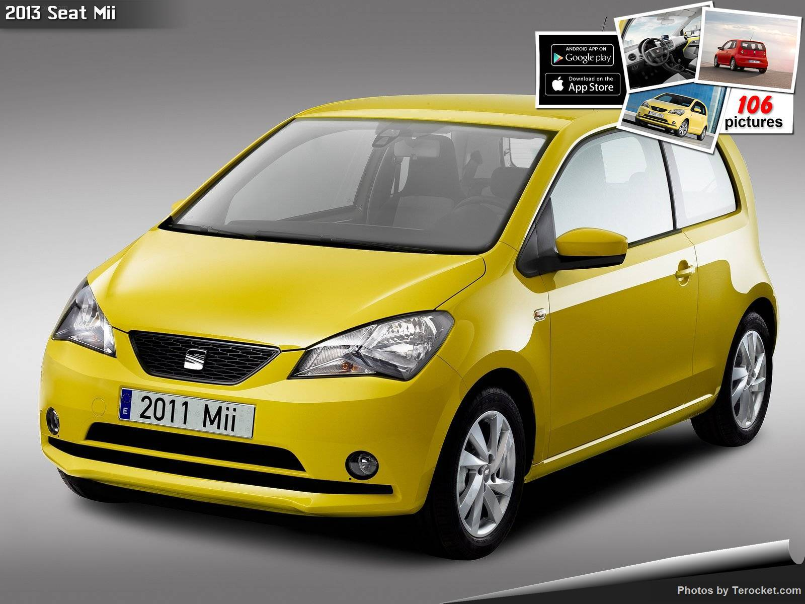Hình ảnh xe ô tô Seat Mii 2013 & nội ngoại thất