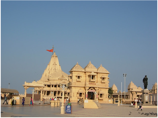 Somnath Temple in Gujarat
