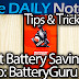 Samsung Galaxy Note 3 Tips & Tricks Episode 43, Extend Battery Life with Snapdraon BatteryGuru