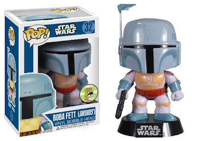 San Diego Comic-Con 2013 Exclusive Droids Edition Boba Fett Star Wars Pop! Vinyl Figure by Funko