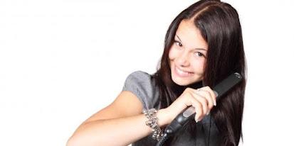 Model Belahan Rambut