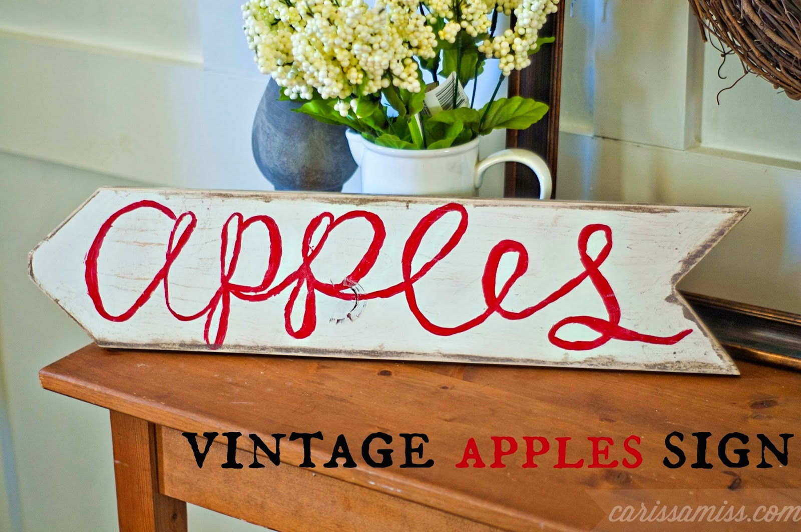 Carissa Miss: Vintage Apple Sign