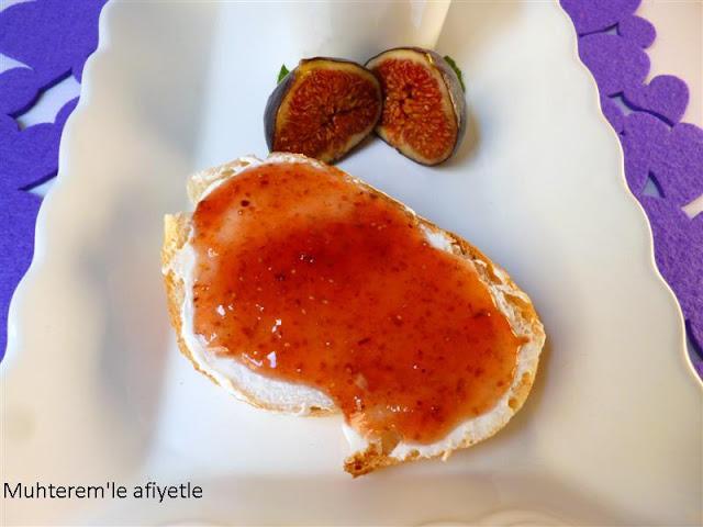 incir marmelatı