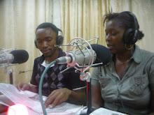 Hope FM radio studio