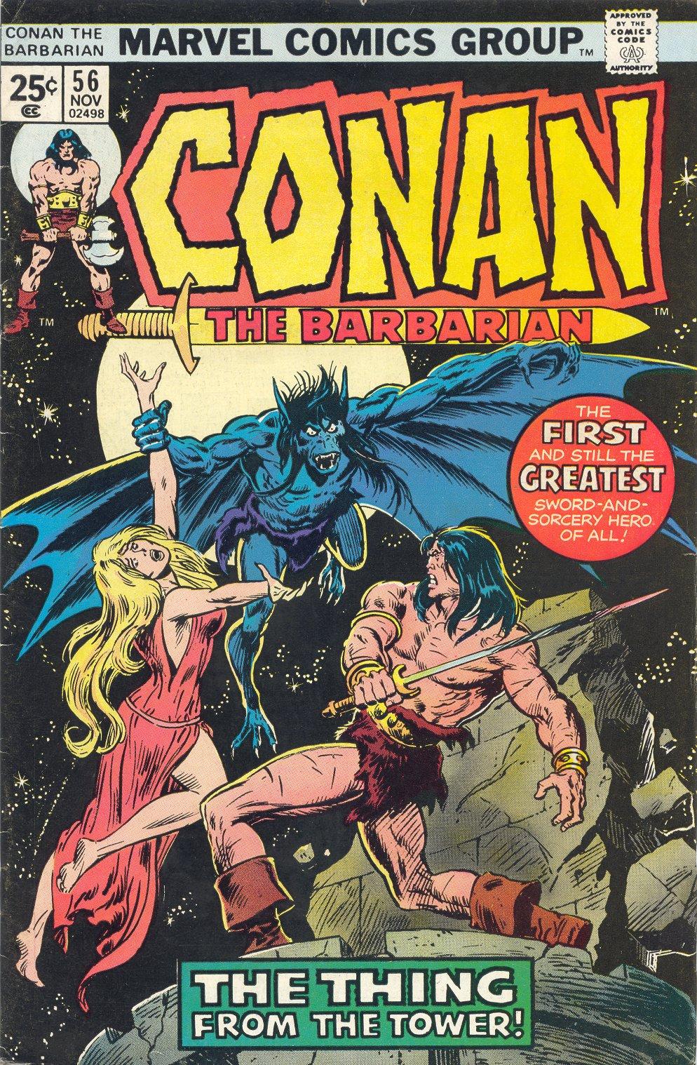 Conan the Barbarian (1970) 56 Page 1