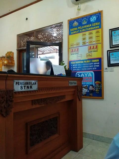 Pelayanan Gerai Samsat Online di Kubutambahan