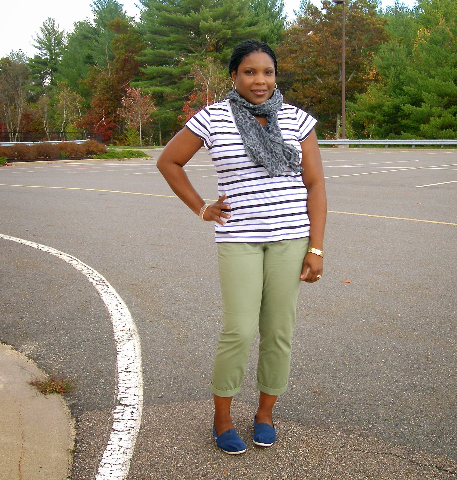 Old Navy Boyfriend Skinny Khakis, How to Wear