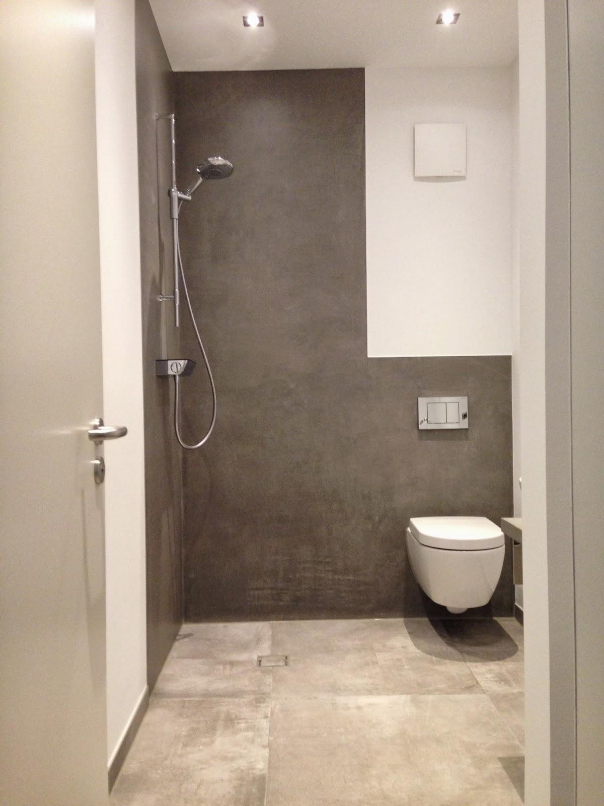 beton cire oberfl chen in beton look beton dusche besserbauen beton cire bremen. Black Bedroom Furniture Sets. Home Design Ideas
