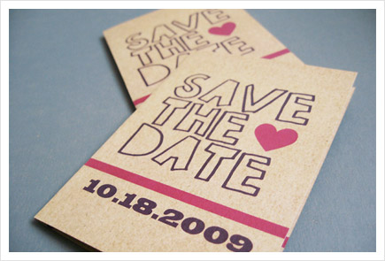 Save the date Debutante