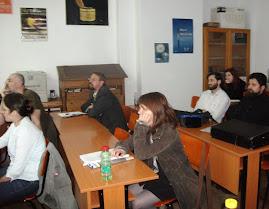 Aspect din timpul comunicării susţinută la Bucureşti, 13.V.2011...