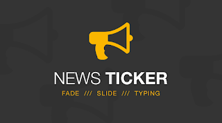 Pasang News Ticker Untuk Blogger