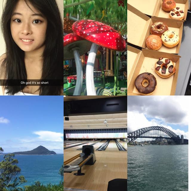 hair cut mushroom doughheads port stephens bowling sydney harbour bridge