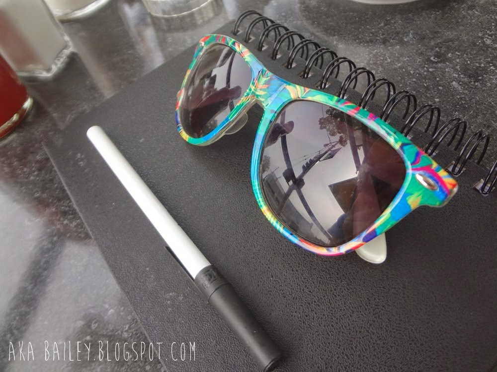 Colorful pair of Forever21 sunglasses
