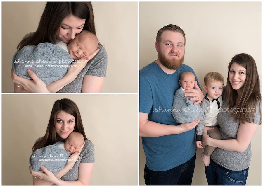 eugene and springfield oregon newborn photographer family