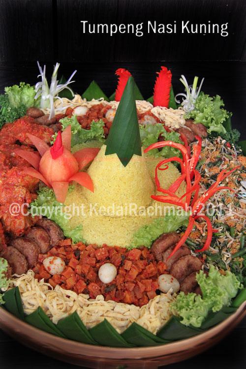 kedai rachmah tumpeng nasi kuning