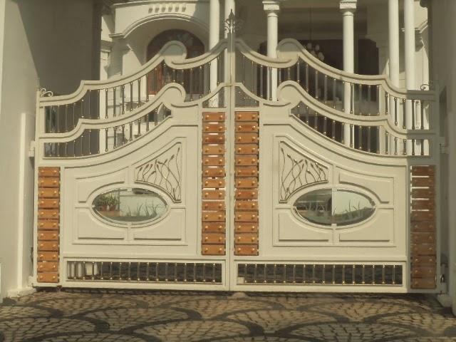Kerala gate designs home gates in kerala for Home gate designs photos