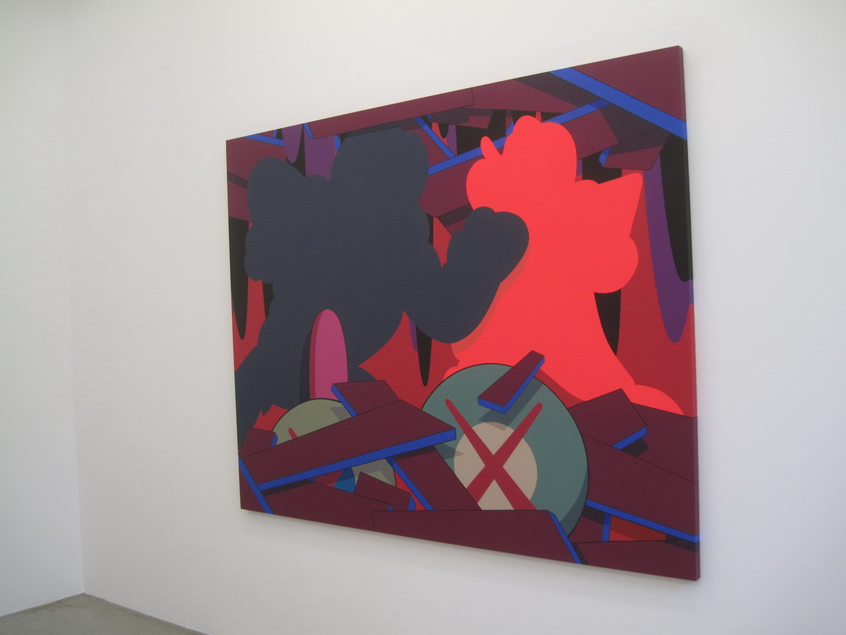 "aRT: KAWS | ""Imaginary Friends"" Exhibition @ Galerie Perrotin ..."