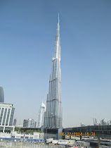 Burj Khalifa in Dubai -- The Tallest Building in the world !!!