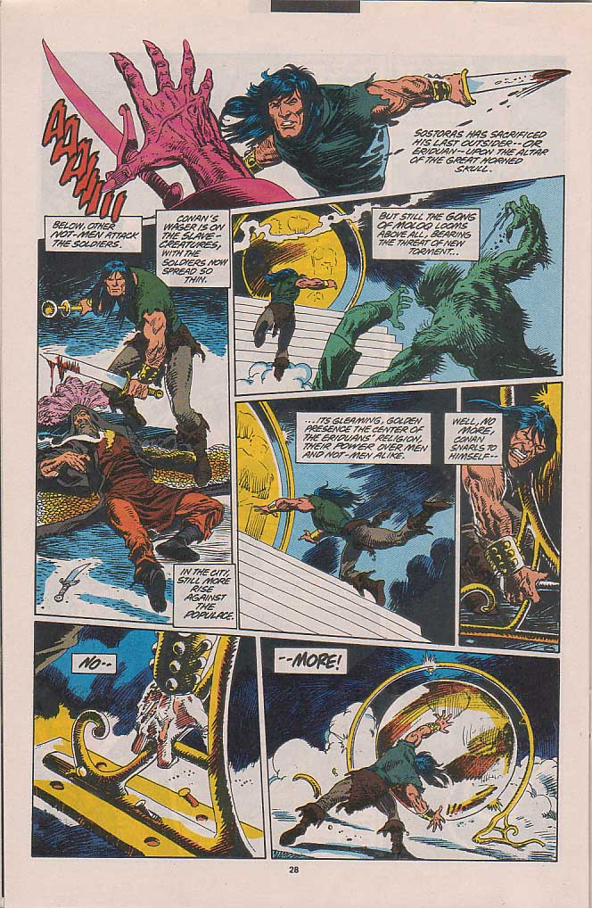 Conan the Barbarian (1970) Issue #263 #275 - English 20