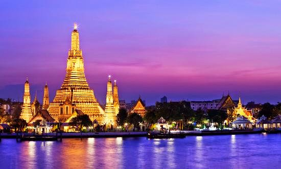 Top 25 destinations in the world: Bangkok, Thailand
