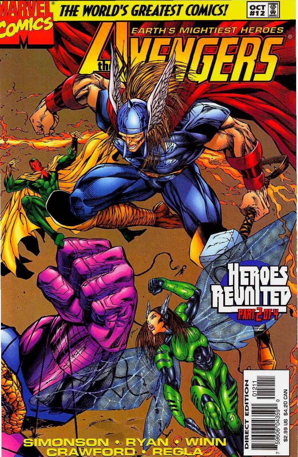 Captain America (1996) 11c Page 1
